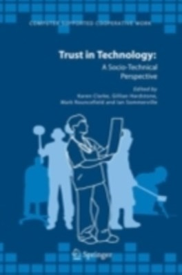 (ebook) Trust in Technology: A Socio-Technical Perspective