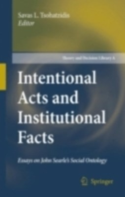 (ebook) Intentional Acts and Institutional Facts