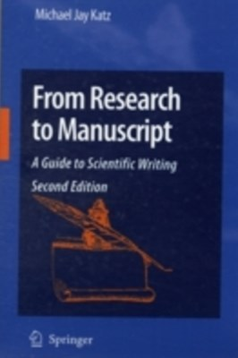 (ebook) From Research to Manuscript