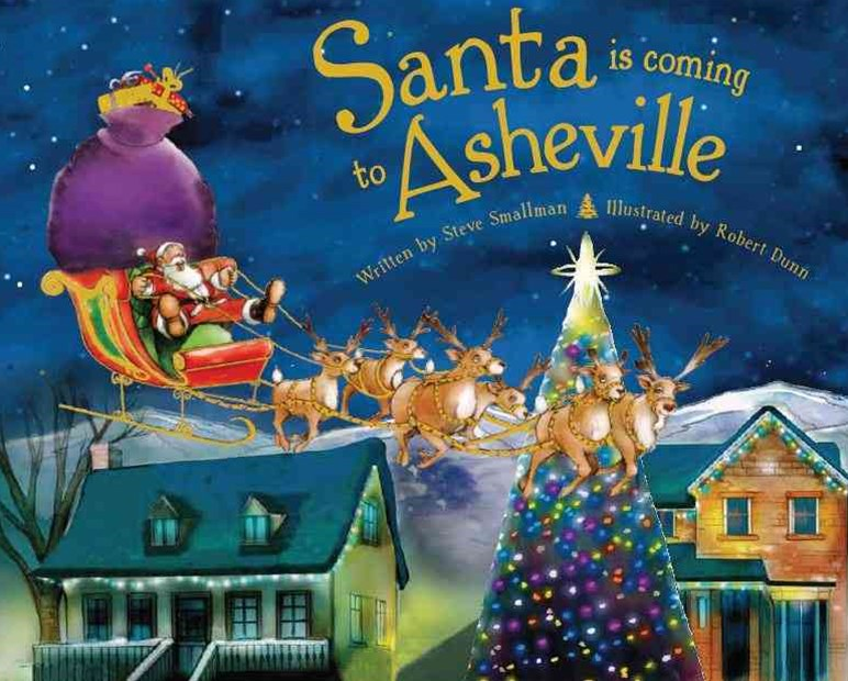 Santa Is Coming to Asheville