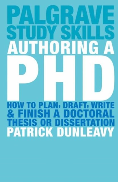 Authoring a Ph. D