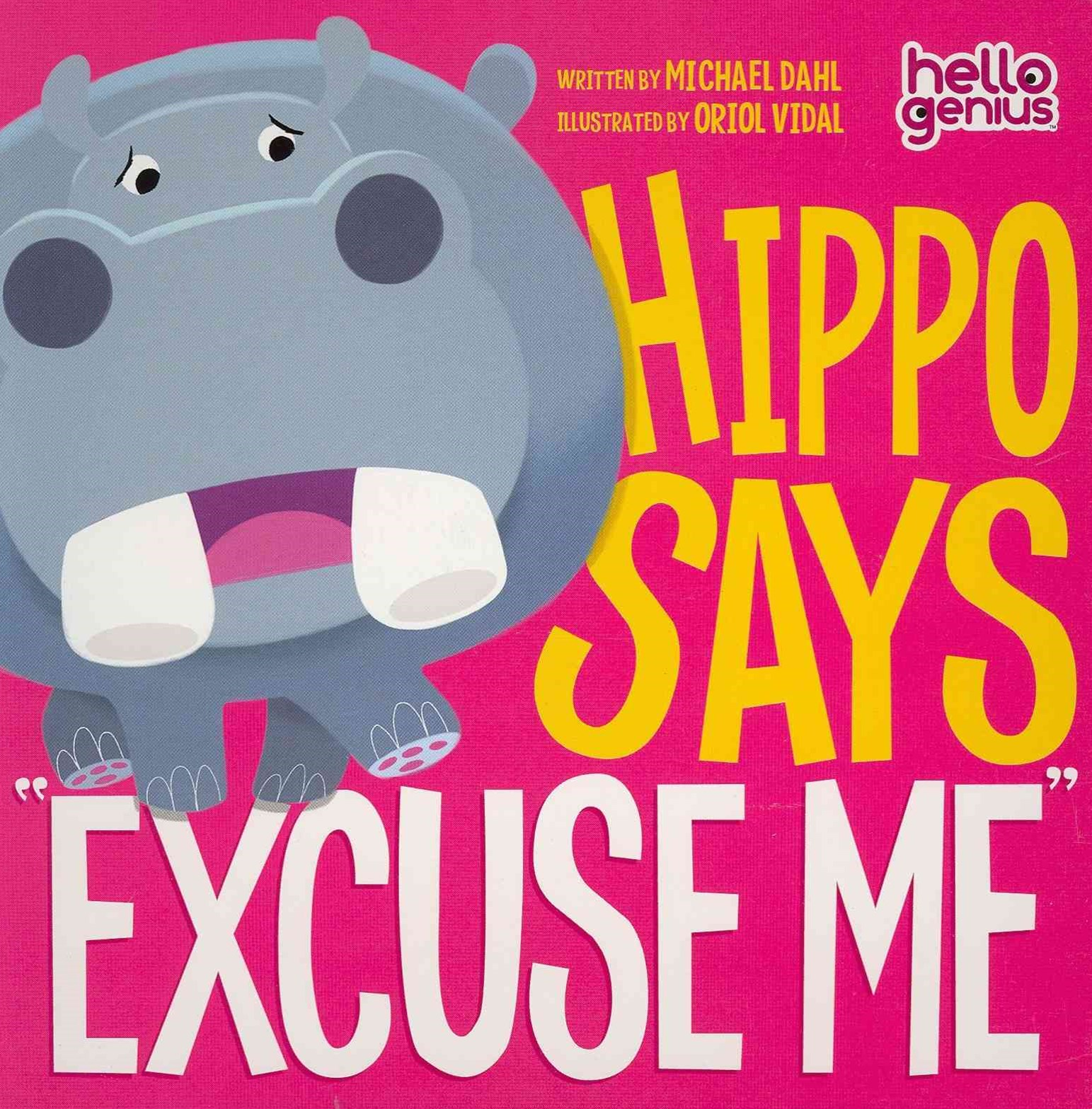 Hippo Says &quote;Excuse Me&quote;