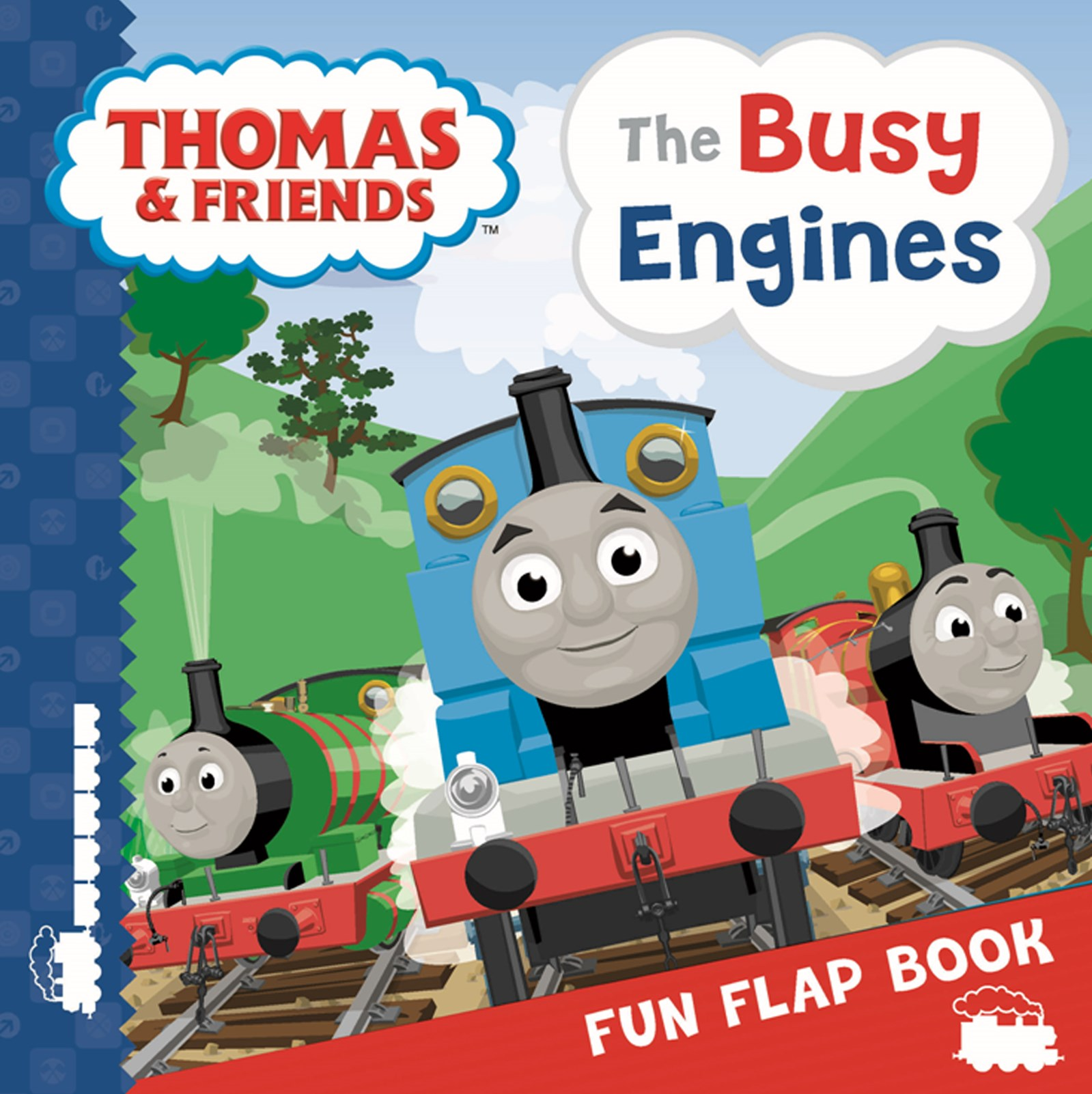 Thomas & Friends: The Busy Engines Lift-the-Flap Book
