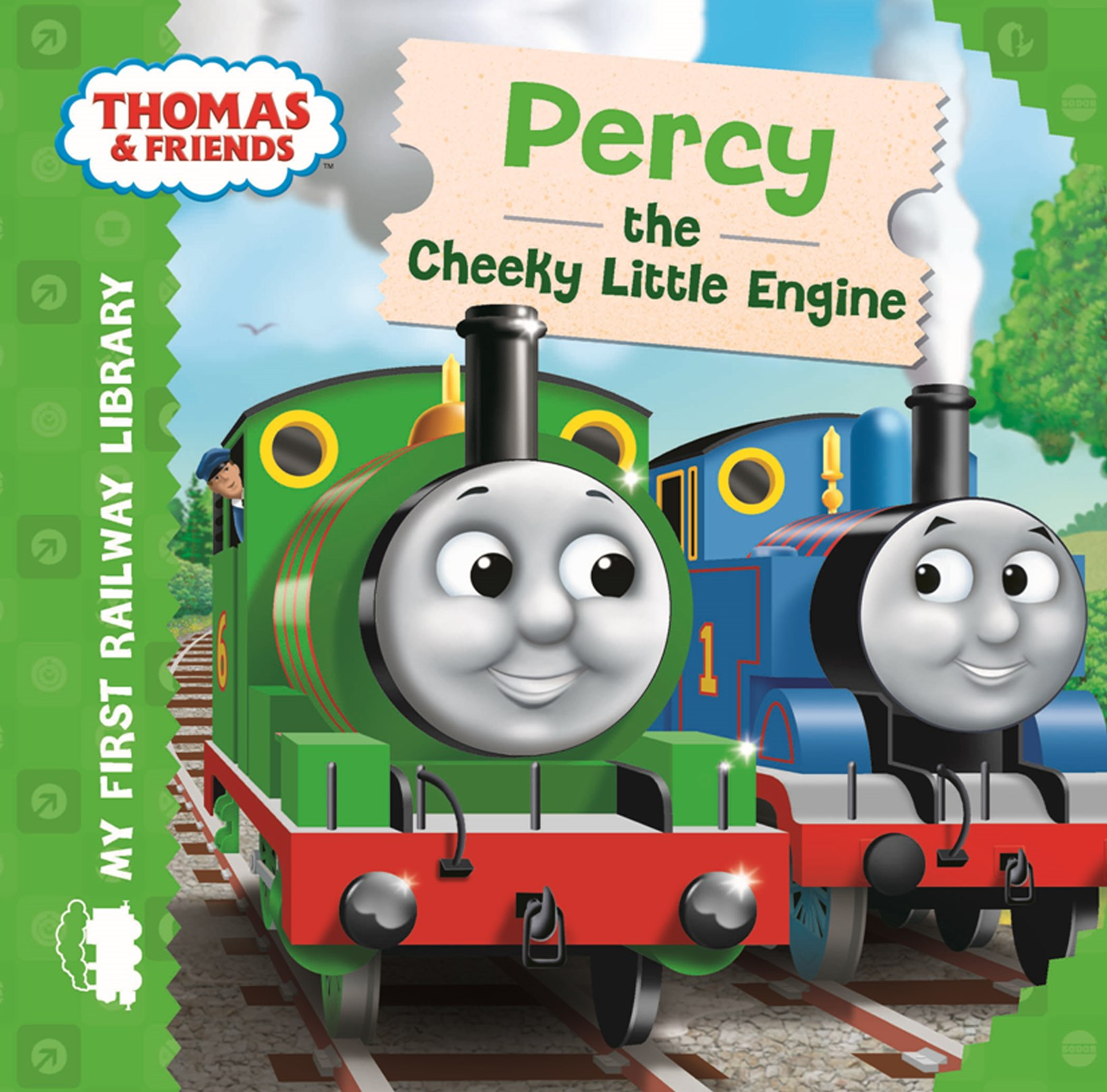 My First Railway Library Percy The Cheeky Little E