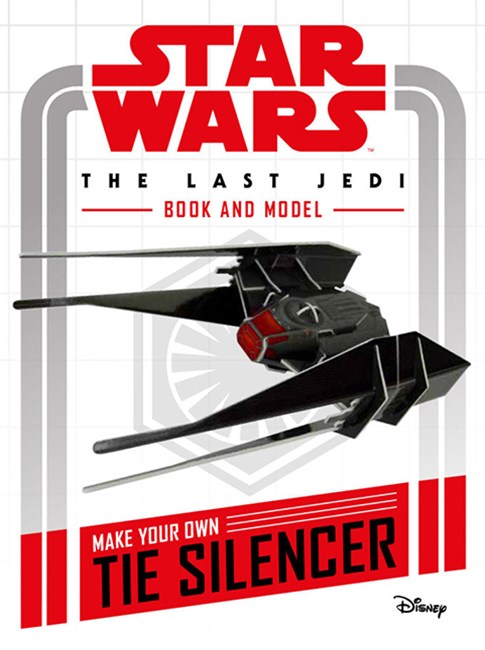 Star Wars The Last Jedi Book and Model