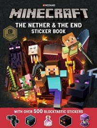 Minecraft The Nether and the End Sticker