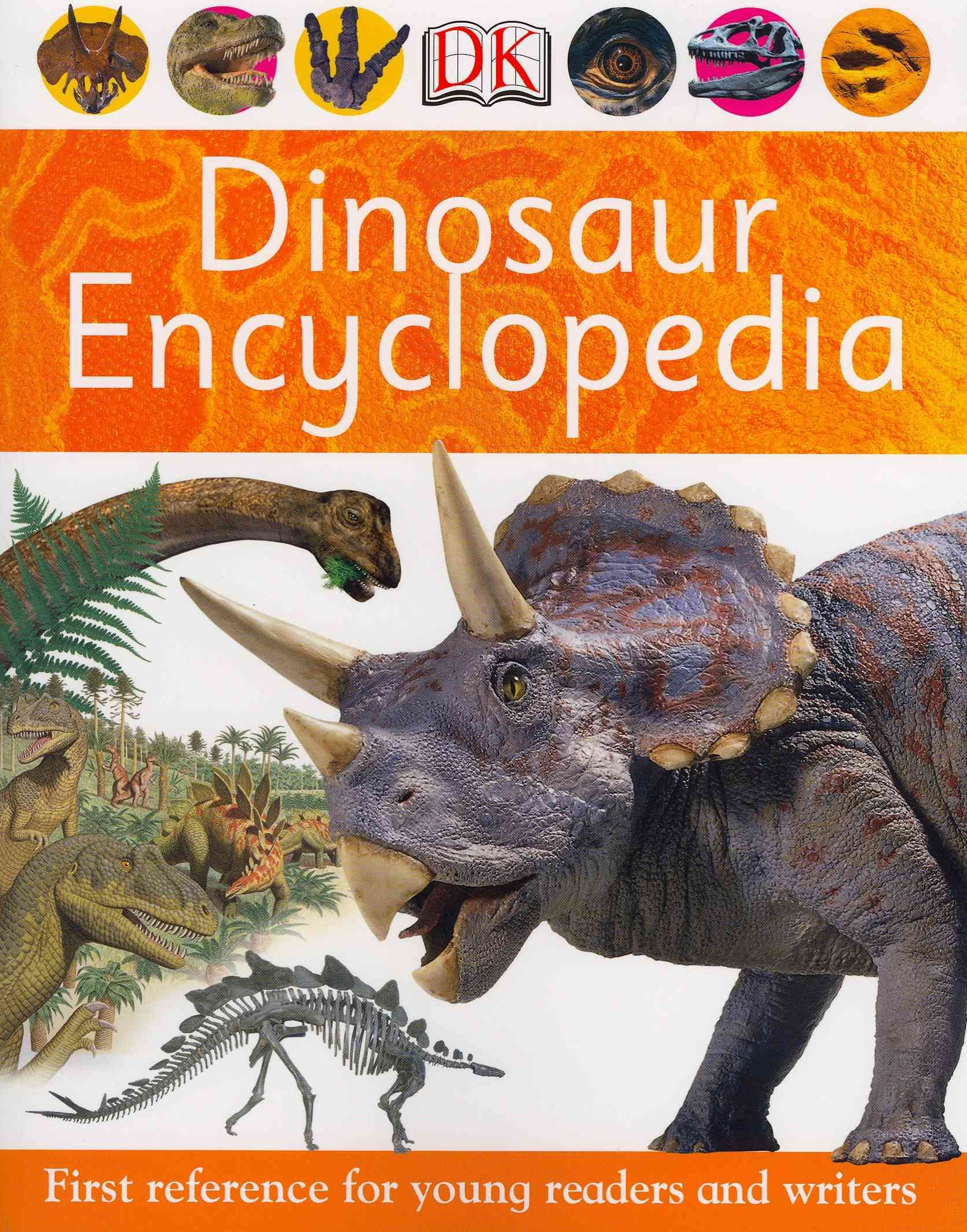 Dinosaur Encyclopedia: First Reference For Young Readers AndWriters