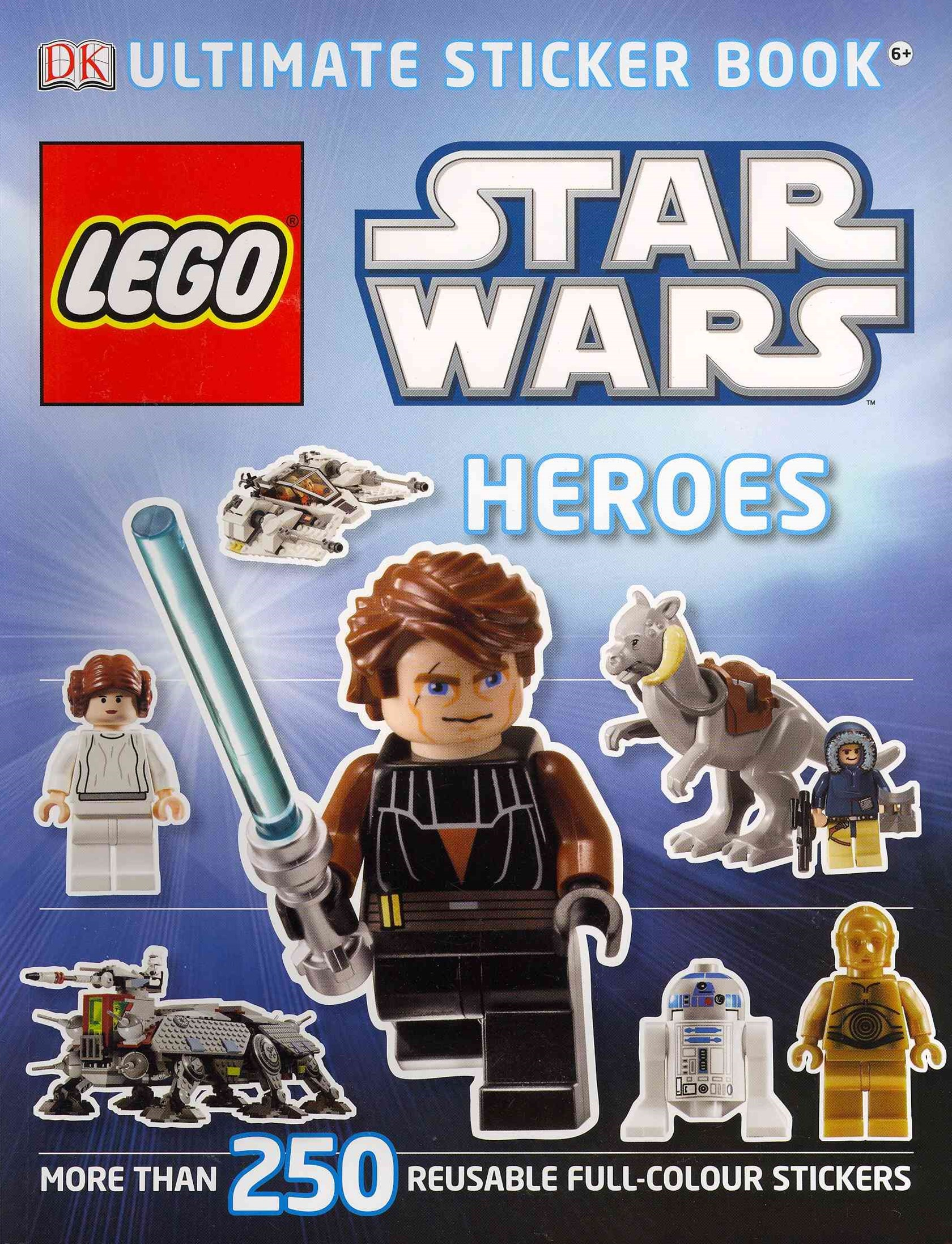 Lego Star Wars Heroes: Ultimate Sticker Book
