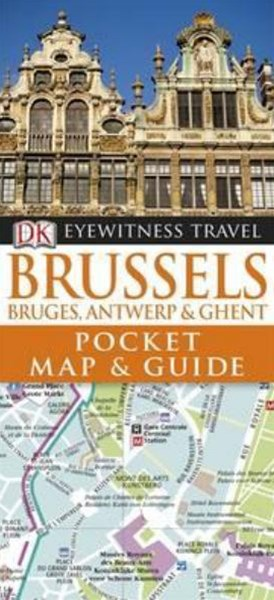 Brussels: Eyewitness Travel Pocket Map & Guide