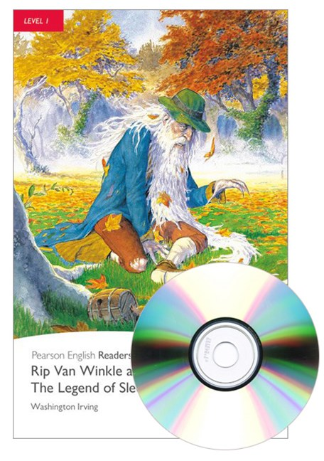 Pearson English Readers Level 1: Rip Van Winkle and the Legend of Sleepy Hollow (Book + CD)