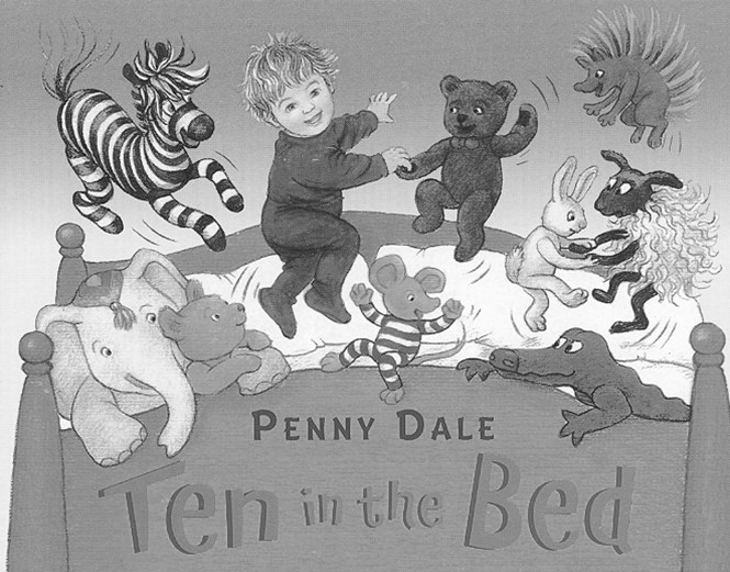 Ten In The Bed Board Book