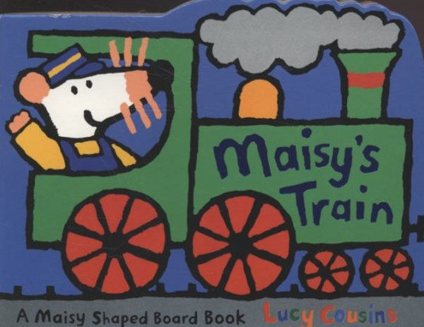 Maisy's Train Shaped Board Book