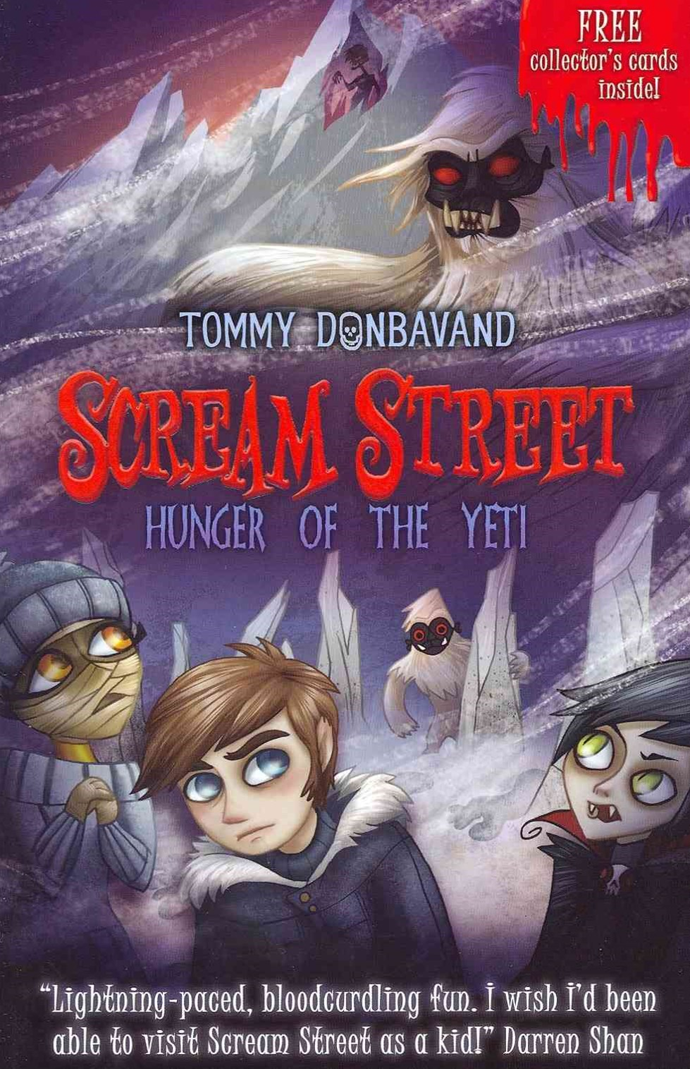 Scream Street Bk 11: Hunger Of The Yeti