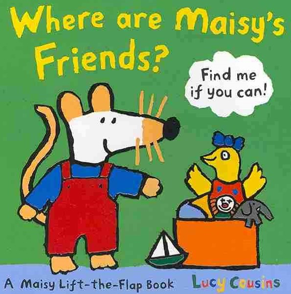 Where Are Maisy's Friends? Board Book