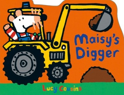 Maisy's Digger Shaped Board Book