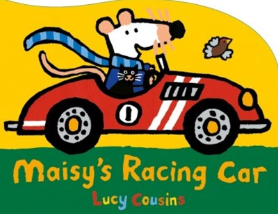 Maisy's Racing Car Shaped Board Book