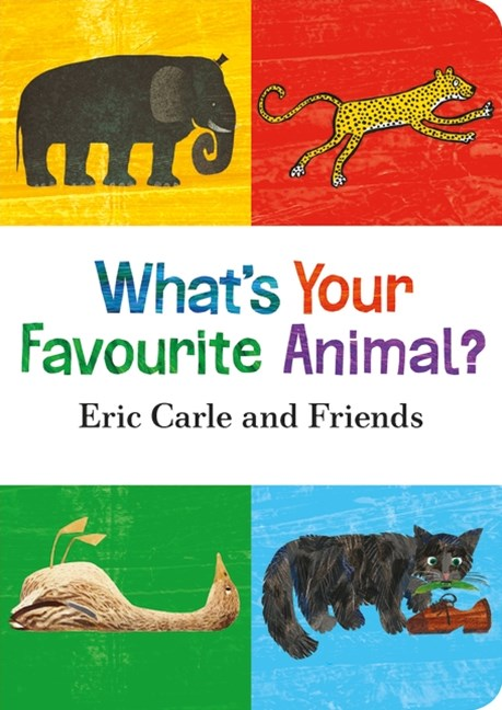 What's Your Favourite Animal? Board Book