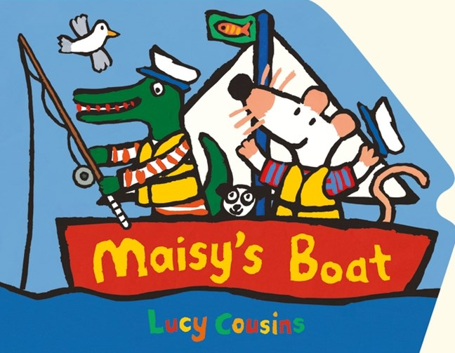 Maisy's Boat Shaped Board Book
