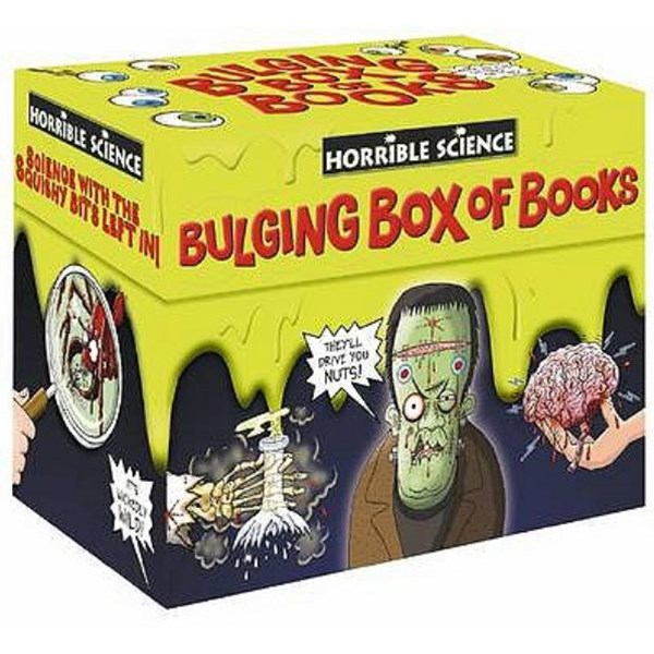 Horrible Science: Bulging Box of Books