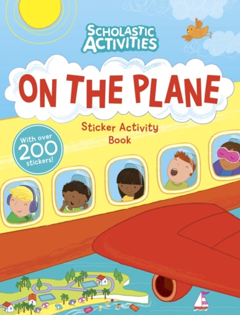 On the Plane Sticker Activity Book