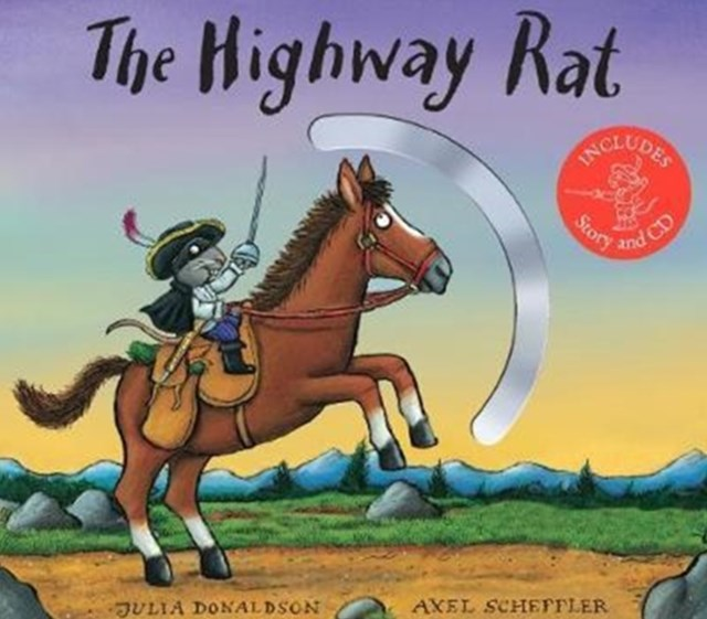 Highway Rat Board Book + CD