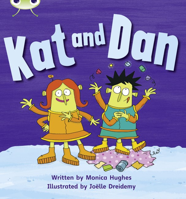 Phonics Bug Phase 2: Kat and Dan (Reading Level 1/F&P Level A)