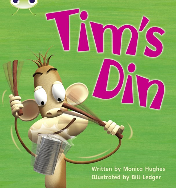 Phonics Bug Phase 2: Tim's Din (Reading Level 1/F&P Level A)