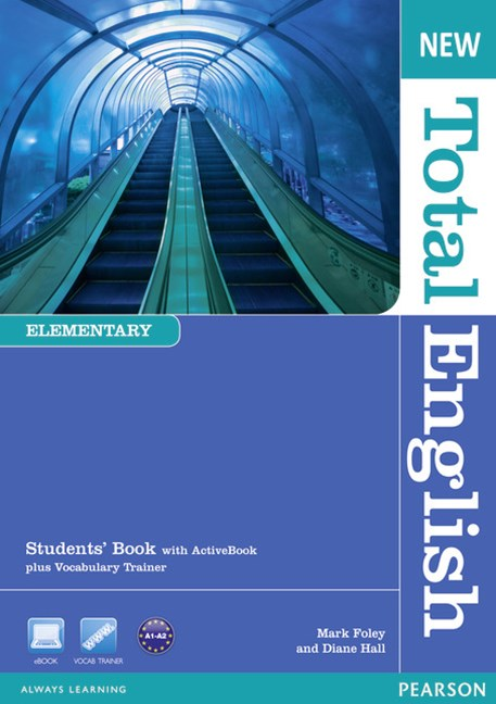 New Total English Elementary Students' Book with Active Book Pack