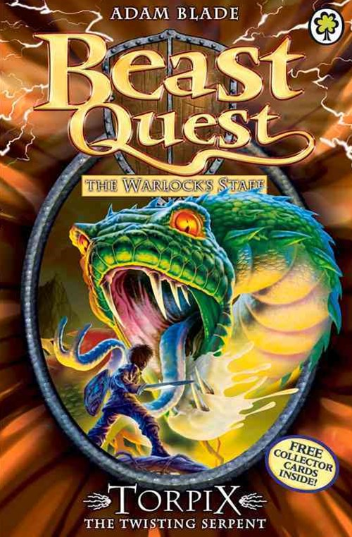 Beast Quest: Series 9 Book 6: Torpix the Twisting Serpent