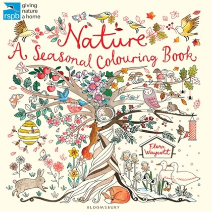 RSPB A Year in Nature Colouring Book