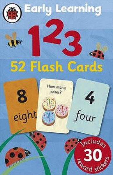 Ladybird Early Learning: 123 Flashcards