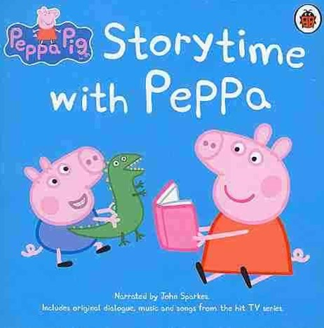 Peppa Pig: Storytime With Peppa Cd