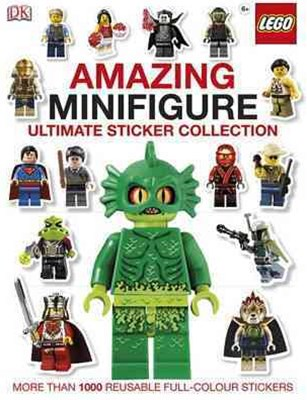 Lego Amazing Minifigure: Ultimate Sticker Collection