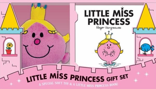 Little Miss Princess Book and Plush Gift Set