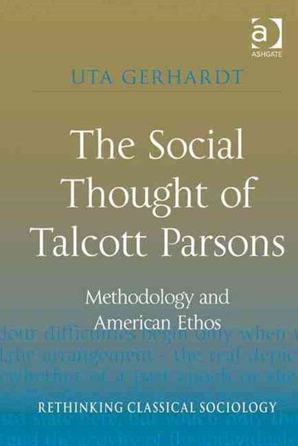 Social Thought of Talcott Parsons