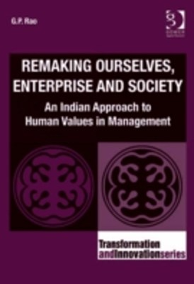 (ebook) Remaking Ourselves, Enterprise and Society
