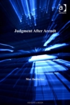 (ebook) Judgment After Arendt