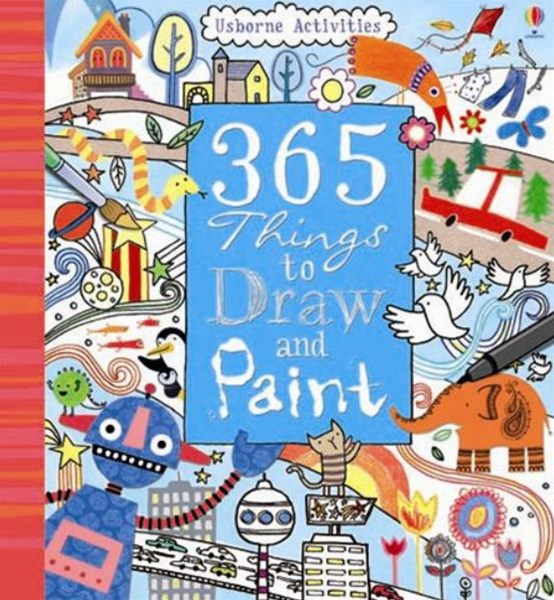 365 Things To Draw And Paint: Activity Cards Spiral Bound Edition