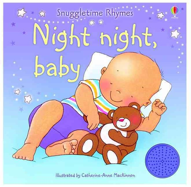 Snuggletime Rhymes Night Night Baby Sound Book