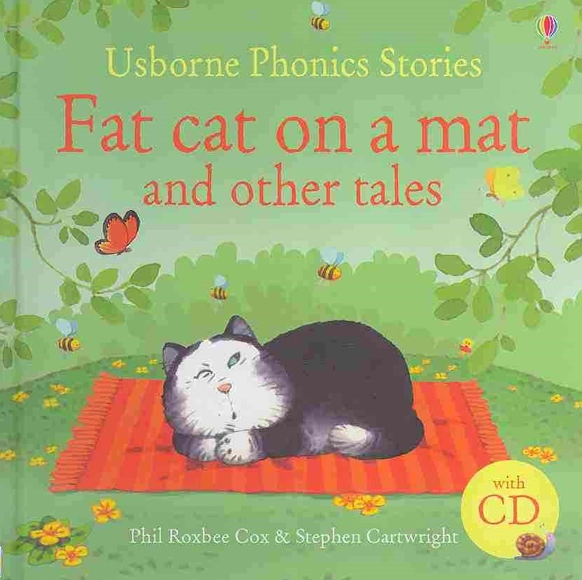 Phonics Stories: Fat Cat on a Mat and Other Tales with CD