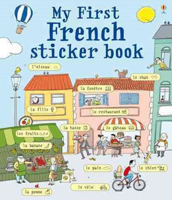 My First French Sticker Book