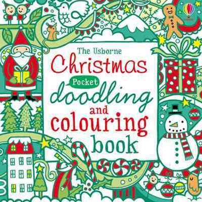 Christmas Pocket Doodling; Colouring Pb
