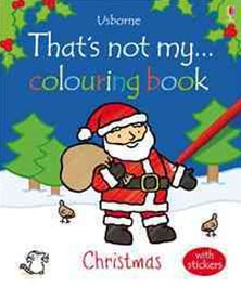 That's Not My Colouring Book Christmas