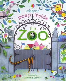 Peep Inside the Zoo - Children's Fiction Early Readers (0-4)