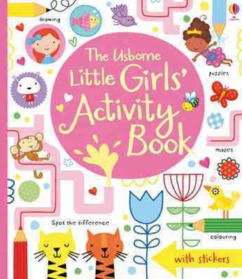 Little Girls' Activity Book