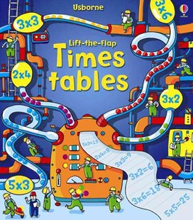 Lift the Flap Times Tables Book by Rosie Dickins, Rosie Dickins, Benedetta Giaufret, Enrica Rusina (9781409550242) - HardCover - Picture Books Gift & Novelty