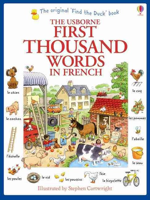 First Thousand Words in French