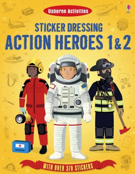 Sticker Dressing Action Heroes 1 and 2