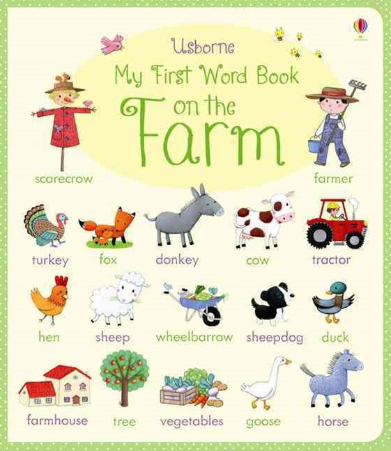 My First Word Book: On the Farm