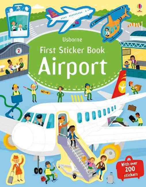 First Sticker Book Airports